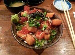 Barachirashi, Teppei Japanese Restaurant  [2013]